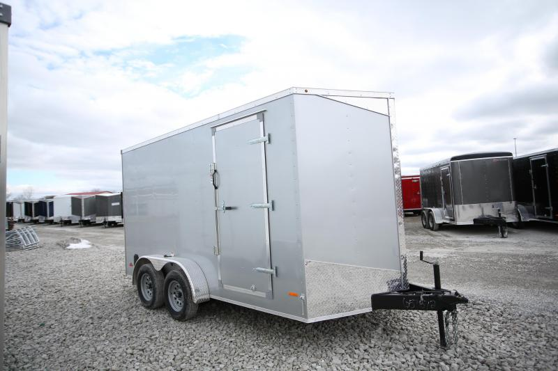 "NEW RC Trailers 7 x 14 + 12"" Height Enclosed Cargo Trailer"