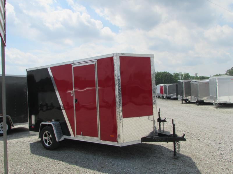 2019 RC Trailers 6x12 Enclosed Cargo Trailer