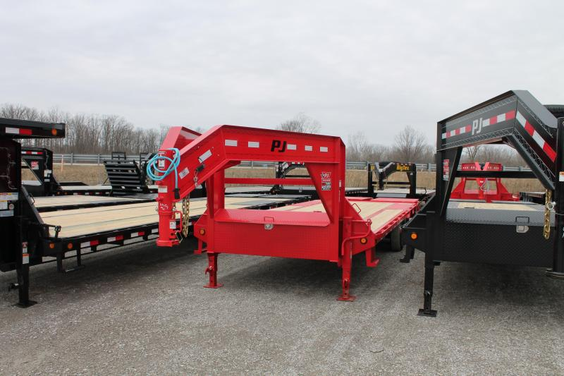 2020 PJ Trailers 25' MR 14K Flatbed Trailer