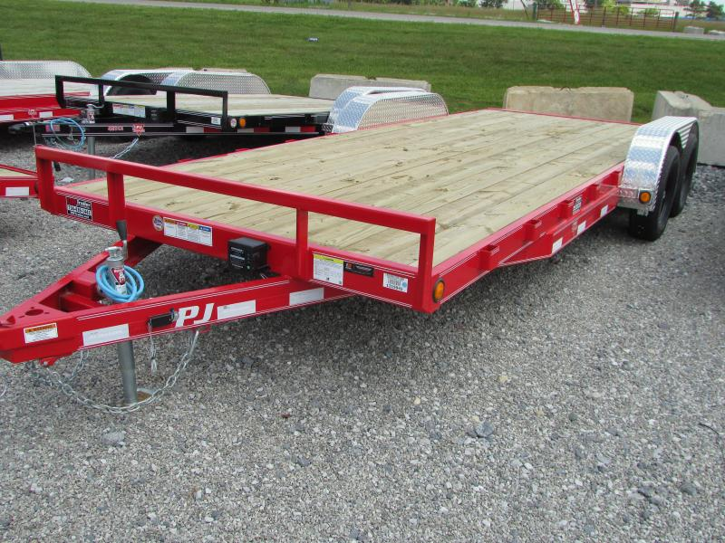 2020 PJ Trailers 20 ft Flatbed Trailer