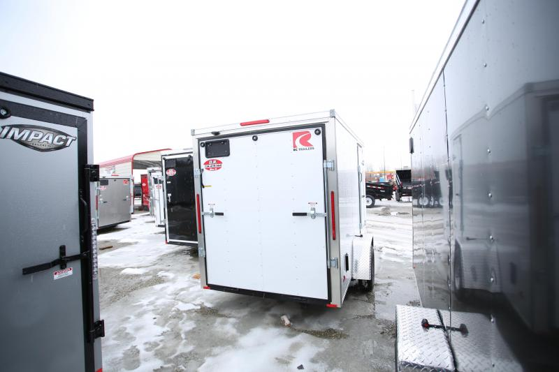 NEW RC Trailers 6 x 12 Enclosed Cargo Trailer