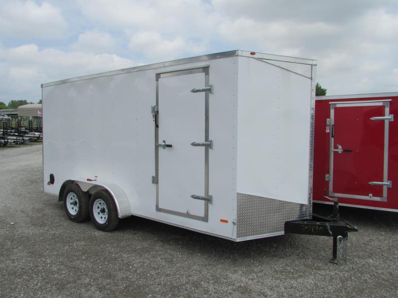 2019 RC Trailers 7 x 16 Ramp Door Extra Height Enclosed Cargo Trailer