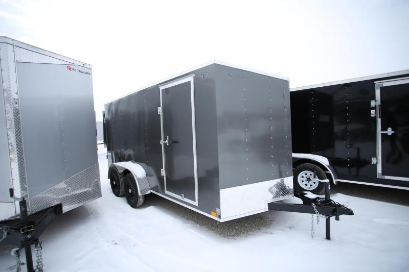 NEW Darkhorse Cargo 7 x 14 Ramp Door Enclosed Cargo Trailer