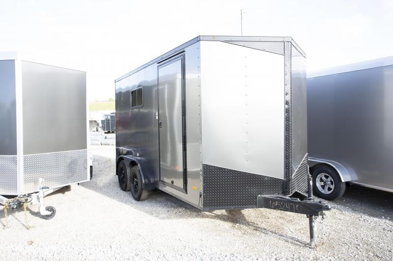 2020 RC Trailers 7 X 14 Ramp Blackout Enclosed Cargo Trailer