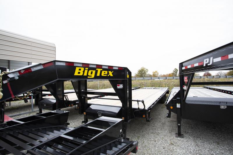 2020 Big Tex Trailers 30 Mega Ramps Gooseneck Flatbed Trailer
