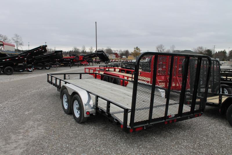 2020 PJ Trailers 18' RG 7K Equipment Trailer