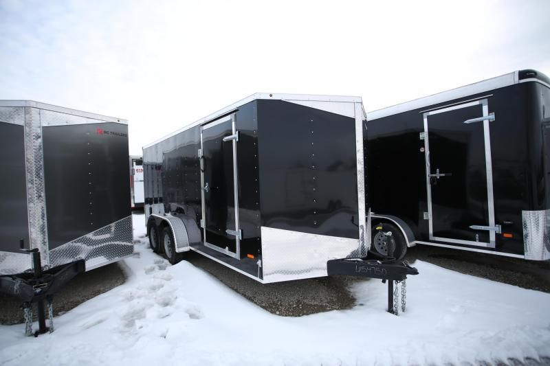 2020 RC Trailers 7 x 16 Double Door Enclosed Cargo Trailer