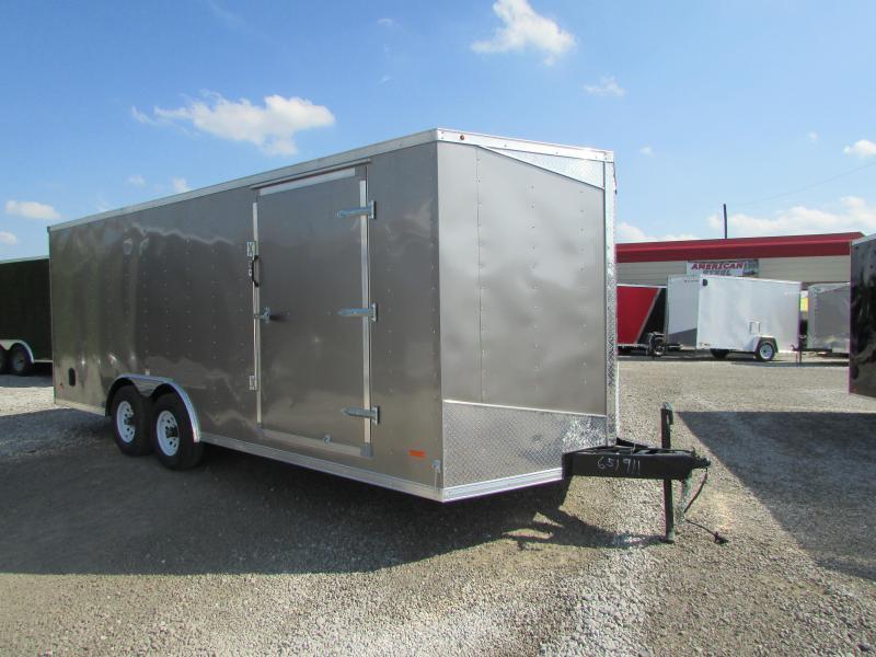 2020 RC Trailers 20 ft 10 k gvwr Carhauler Enclosed Cargo Trailer