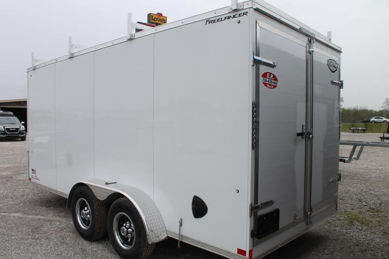 2021 Impact Trailers 7'X16' CONTRACTOR TRAILER Enclosed Cargo Trailer