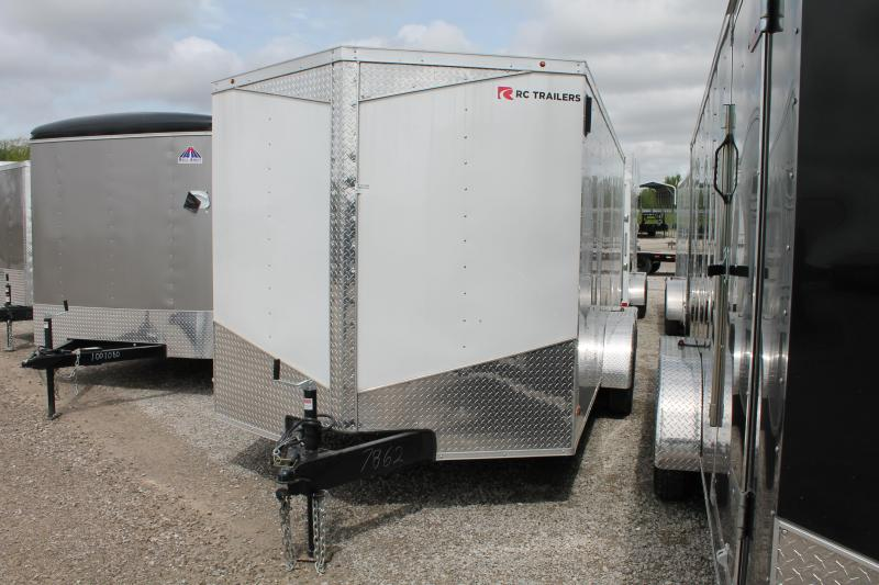 2020 RC Trailers 7'X16' RD Enclosed Cargo Trailer