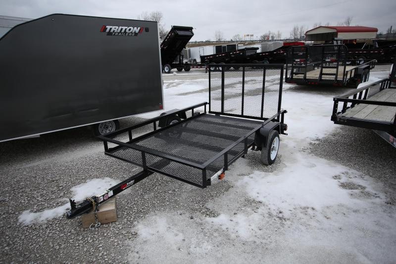 NEW Carry-On 5 x 8 Ramp Gate Utility Trailer