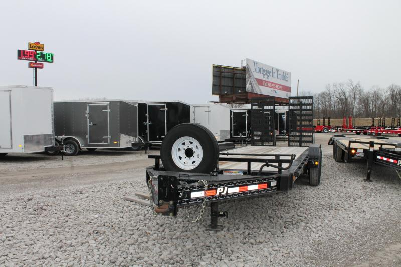 2018 PJ Trailers 22' HR 16K Equipment Trailer
