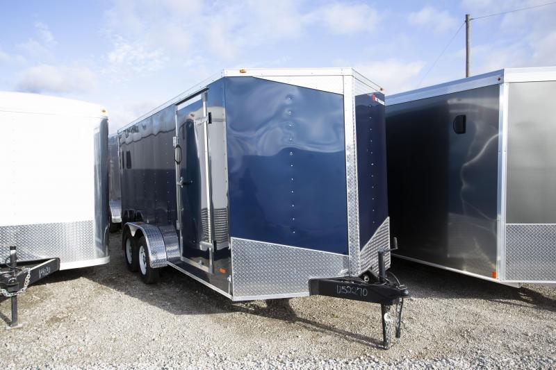 2020 RC Trailers 7 X 16 Double Door Enclosed Cargo Trailer