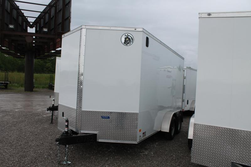 2020 Darkhorse Cargo 7'X14' + 12 RD Enclosed Cargo Trailer