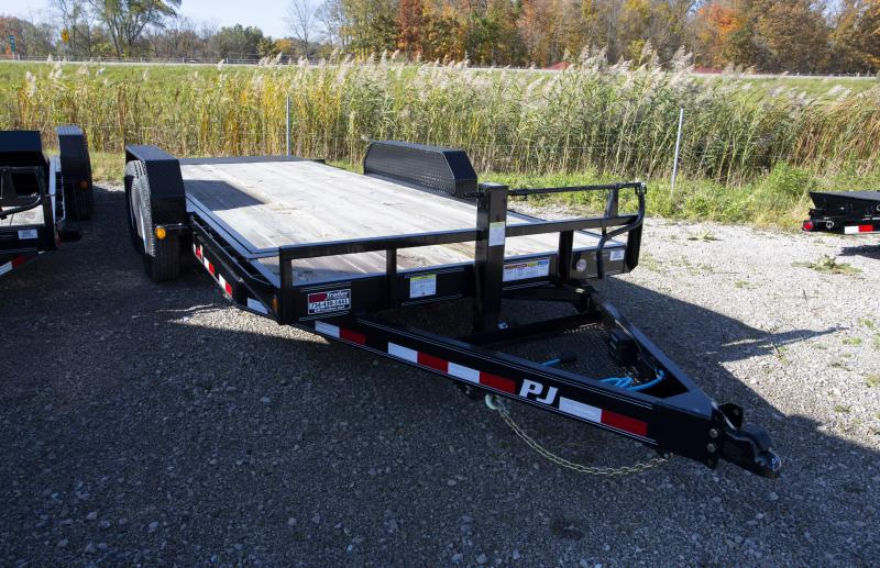 2020 PJ Trailers 18 ft Tilt Equipment Trailer