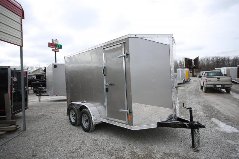"NEW RC Trailers 6 x 12 + 6"" Height Enclosed Cargo Trailer"