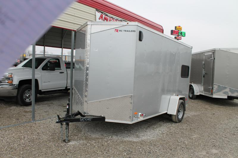 2020 RC Trailers 6'x12' Concession Enclosed Cargo Trailer