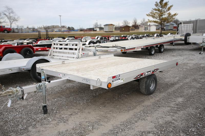 2019 Triton Trailers 2 Place ATV Trailer