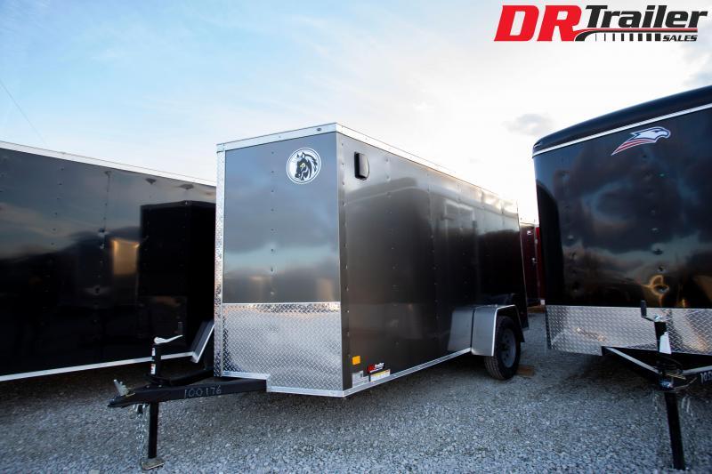2020 Darkhorse Cargo 6 x 12 Ramp Door Enclosed Cargo Trailer