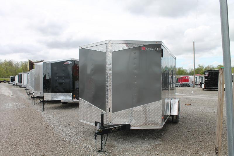 2020 RC Trailers 7X12 RD Enclosed Cargo Trailer
