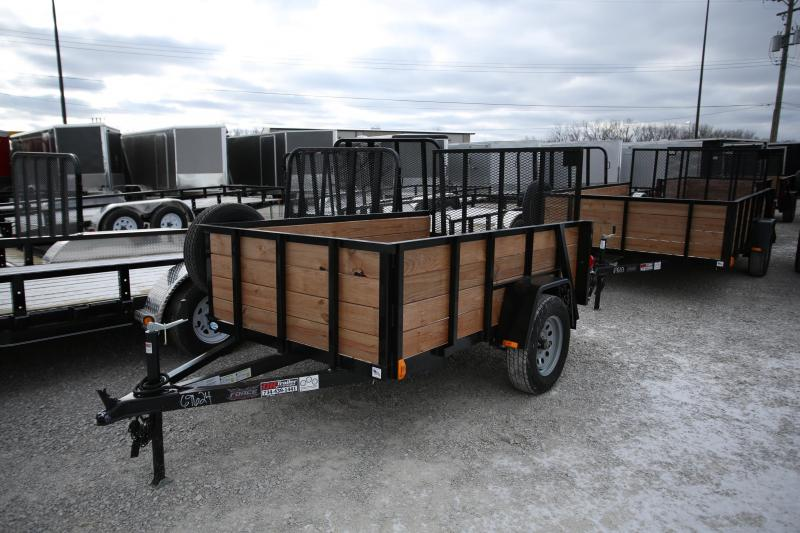 2020 Forest River 5x8 Wood Side Utility Trailer