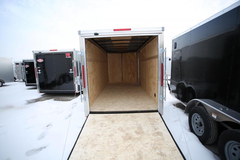 NEW RC Trailers 6 x 14 Ramp Door Enclosed Cargo Trailer
