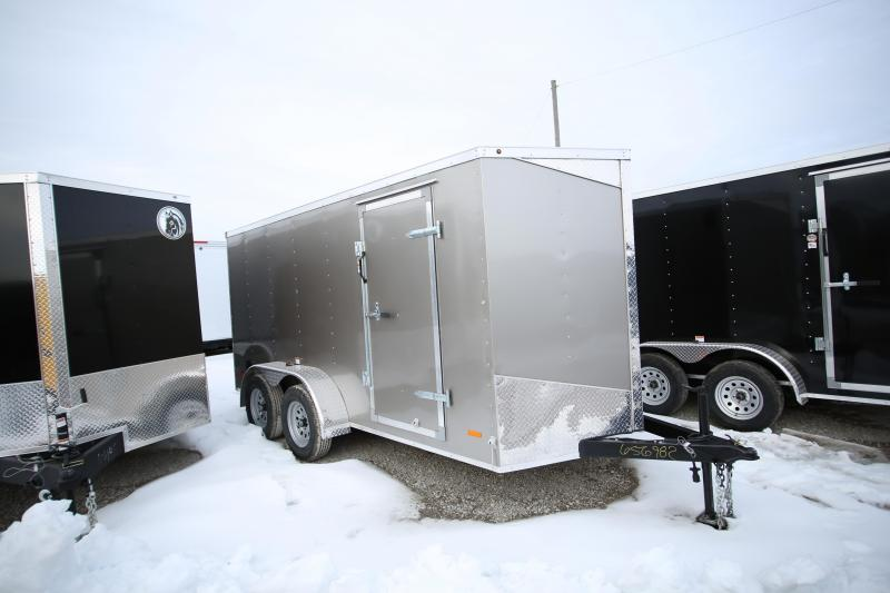 2020 RC Trailers 6 x 14 Ramp Door Enclosed Cargo Trailer