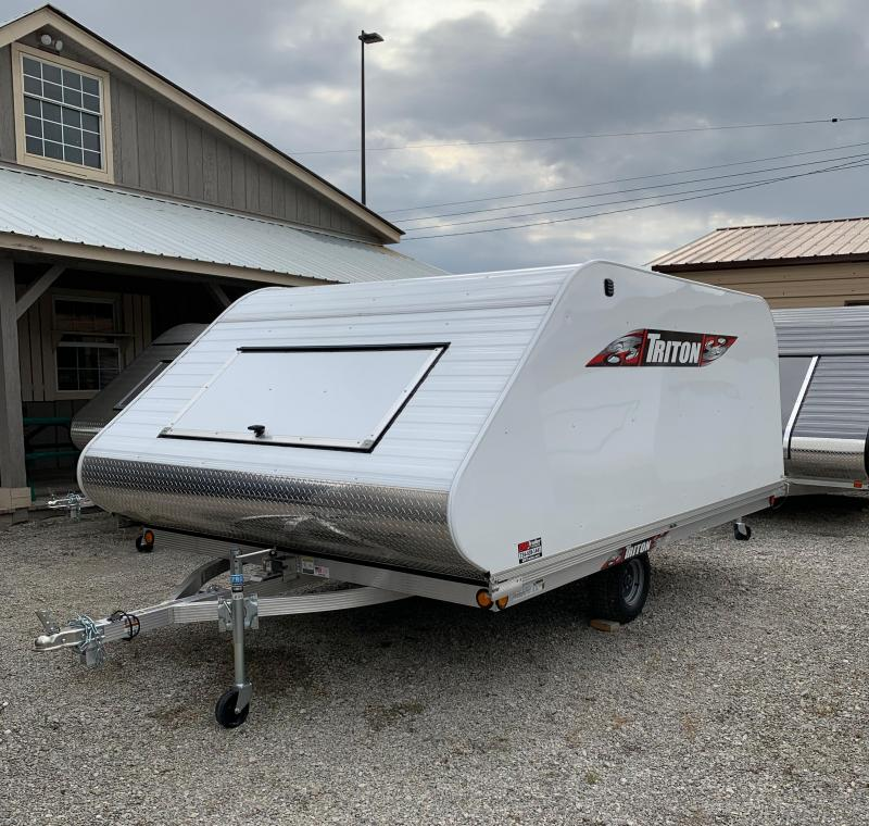 2019 Triton 12 ft Tilt Snowmobile Trailer