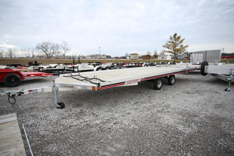 2019 Triton Trailers 4 Place All Aluminum 22' Snowmobile Trailer