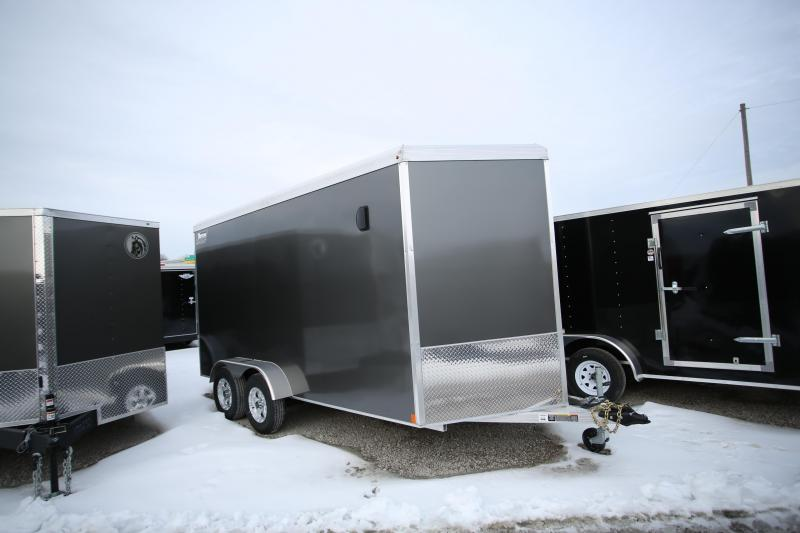 2020 Triton Trailers 7 X 14 + 12in Ramp Door Enclosed Cargo Trailer