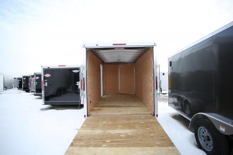 NEW Triton Trailers 7 X 14 + 12in Ramp Door Enclosed Cargo Trailer