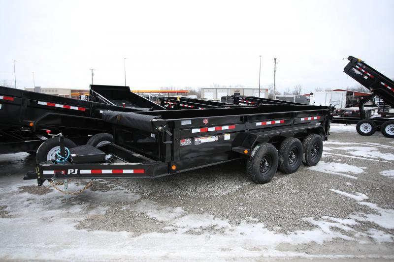 NEW PJ Trailers 16' Dump Trailer