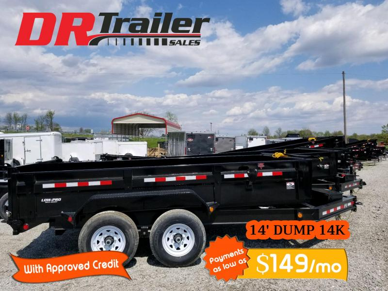 2020 PJ Trailers 14 ft 14k gvwr Dump Trailer