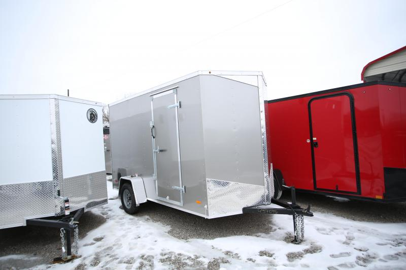 "2020 RC Trailers 6 x 12 + 12"" Enclosed Cargo Trailer"