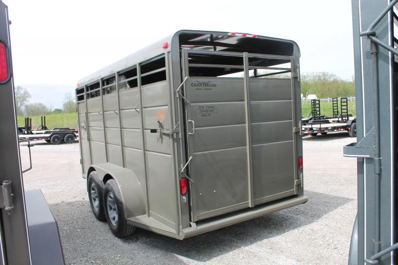2020 Calico Trailers 3 HORSE STOCK Livestock Trailer