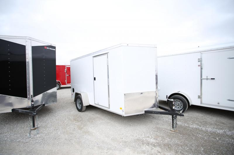 Darkhorse Cargo 6x12 Enclosed Cargo Trailer