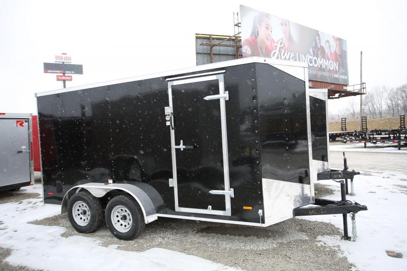 "NEW RC Trailers 6 x 14 + 6"" Height Enclosed Cargo Trailer"