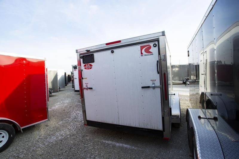 2020 RC Trailers 7 x 14 Ramp Door Tandem Axle Enclosed Cargo Trailer