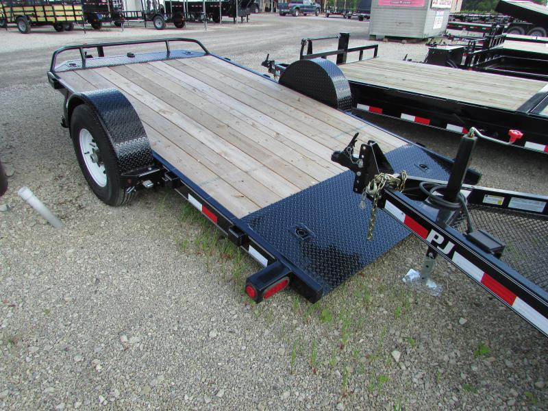2019 PJ Trailers 13ft Tilt Equipment Trailer