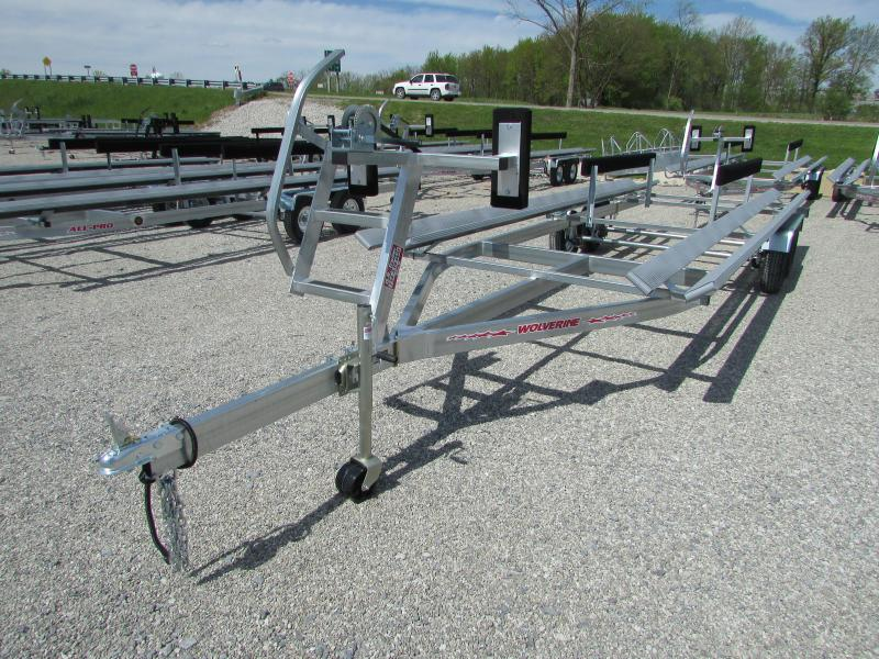 2019 Wolverine Trailers All Pro 26 ft Bunk Style Pontoon Boat Trailer