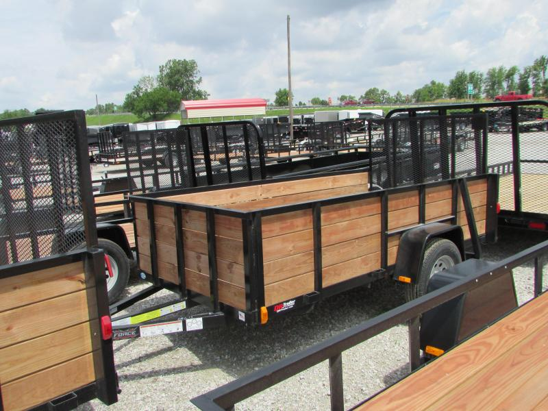 2019 Forest River 5 X 10 Force High Side Utility Trailer