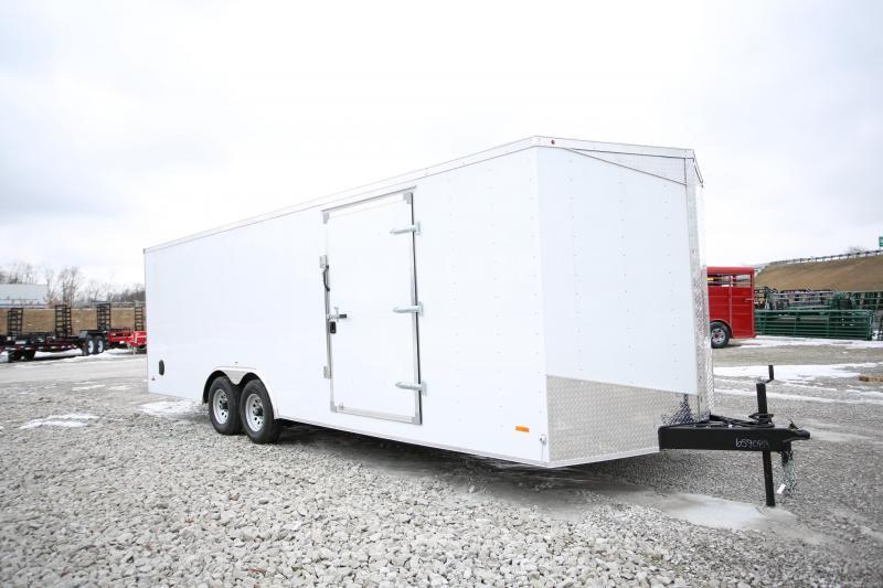 NEW RC Trailers 24' Carhauler 10k GVWR Enclosed Cargo Trailer