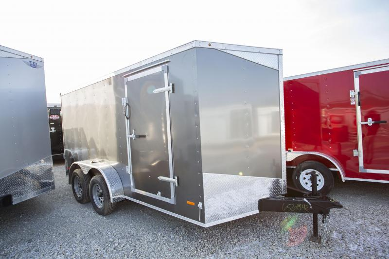 RC Trailers 7 X 14 Double Doors Enclosed Cargo Trailer
