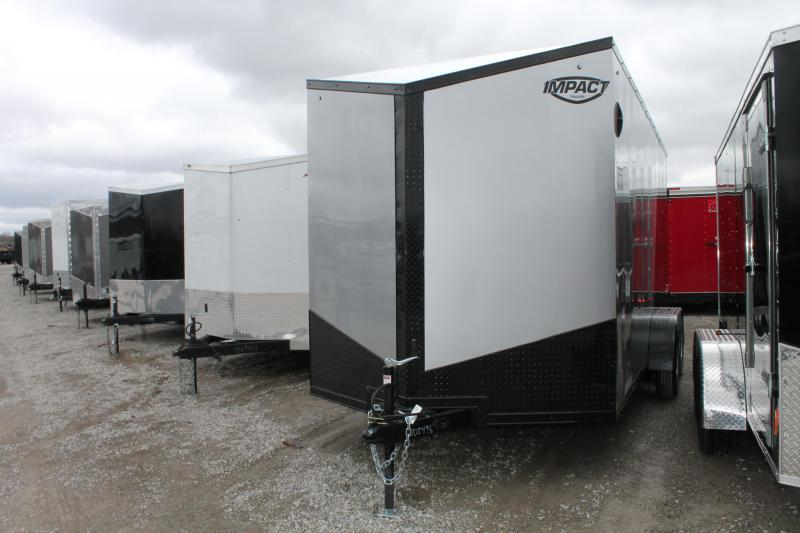 2020 Impact Trailers 7'x16' RD Enclosed Cargo Trailer