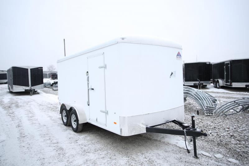 NEW Haul-About 7 x 14 Ramp Door Enclosed Cargo Trailer