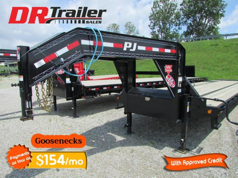 2020 PJ Trailers 28 ft Monster Ramp 25k Gooseneck Equipment Trailer