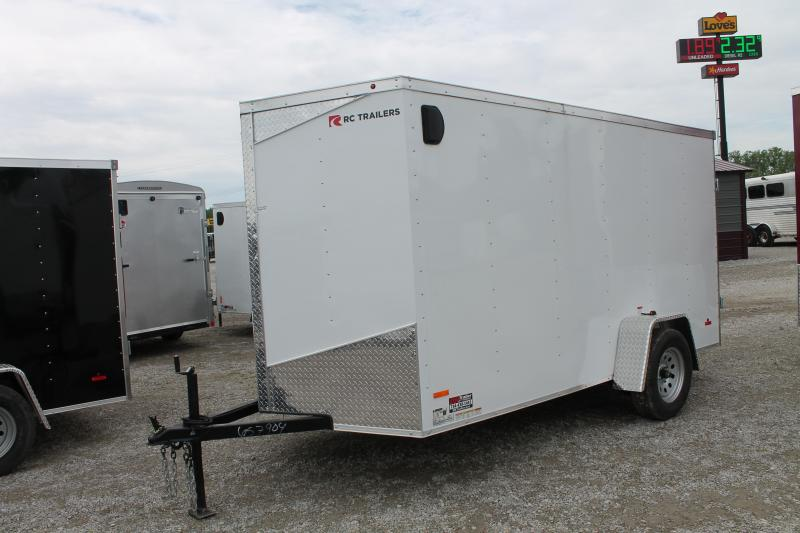 2020 RC Trailers 6'X12' DD Enclosed Cargo Trailer