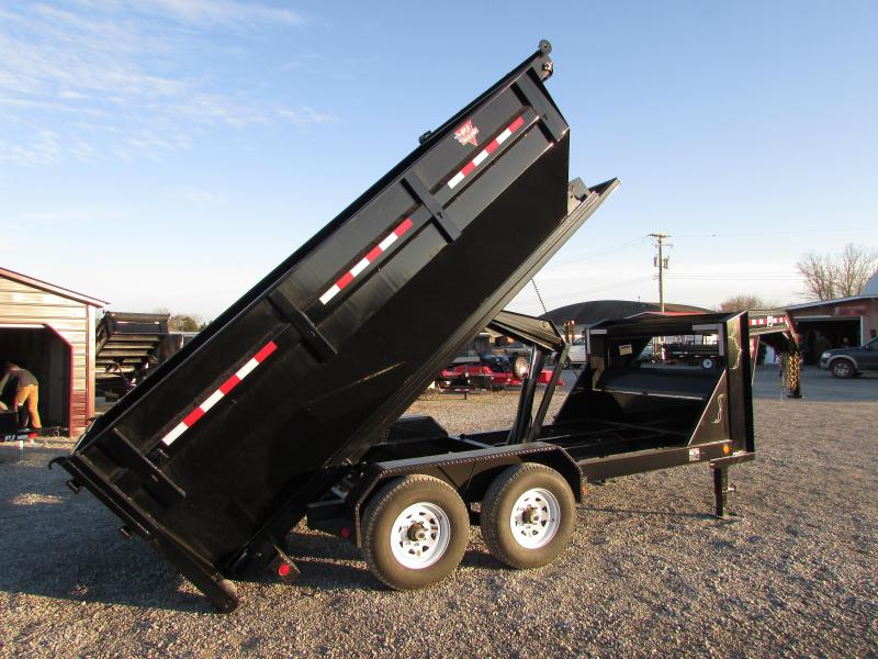2019 PJ Trailers 14 Roll Off Gooseneck Dump Trailer