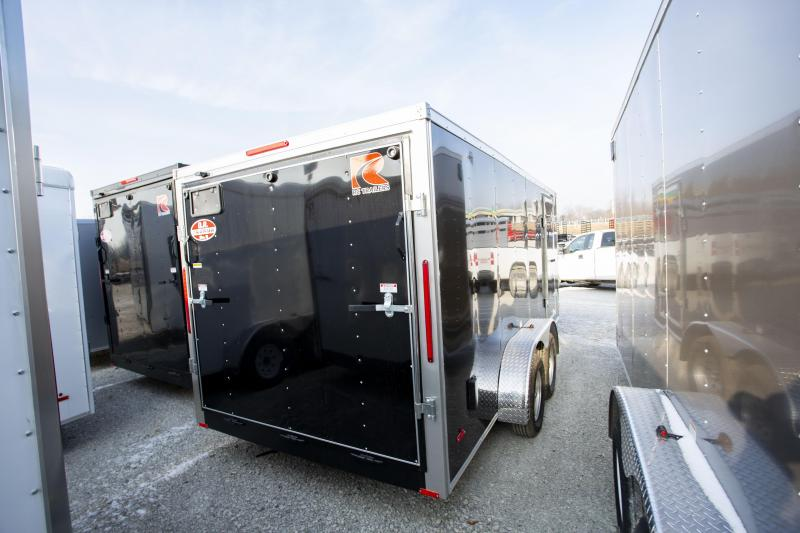 2020 RC Trailers 7 X 16 Ramp Door Enclosed Cargo Trailer