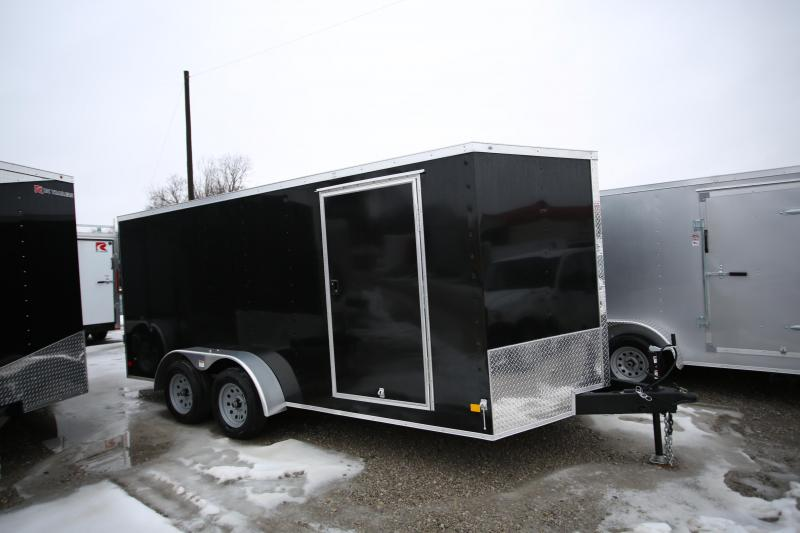 NEW Darkhorse Cargo 7 x 16 Ramp Door Enclosed Cargo Trailer